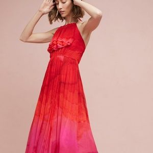 Anthropologie Cascading Dress